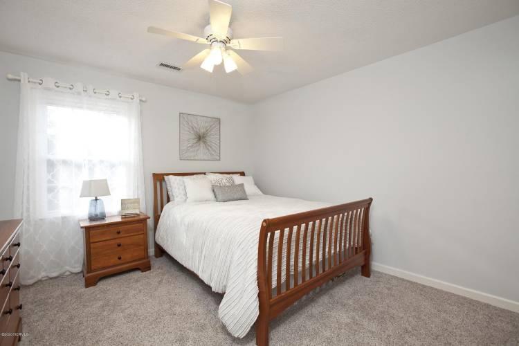tipton gray bedroom from doorway